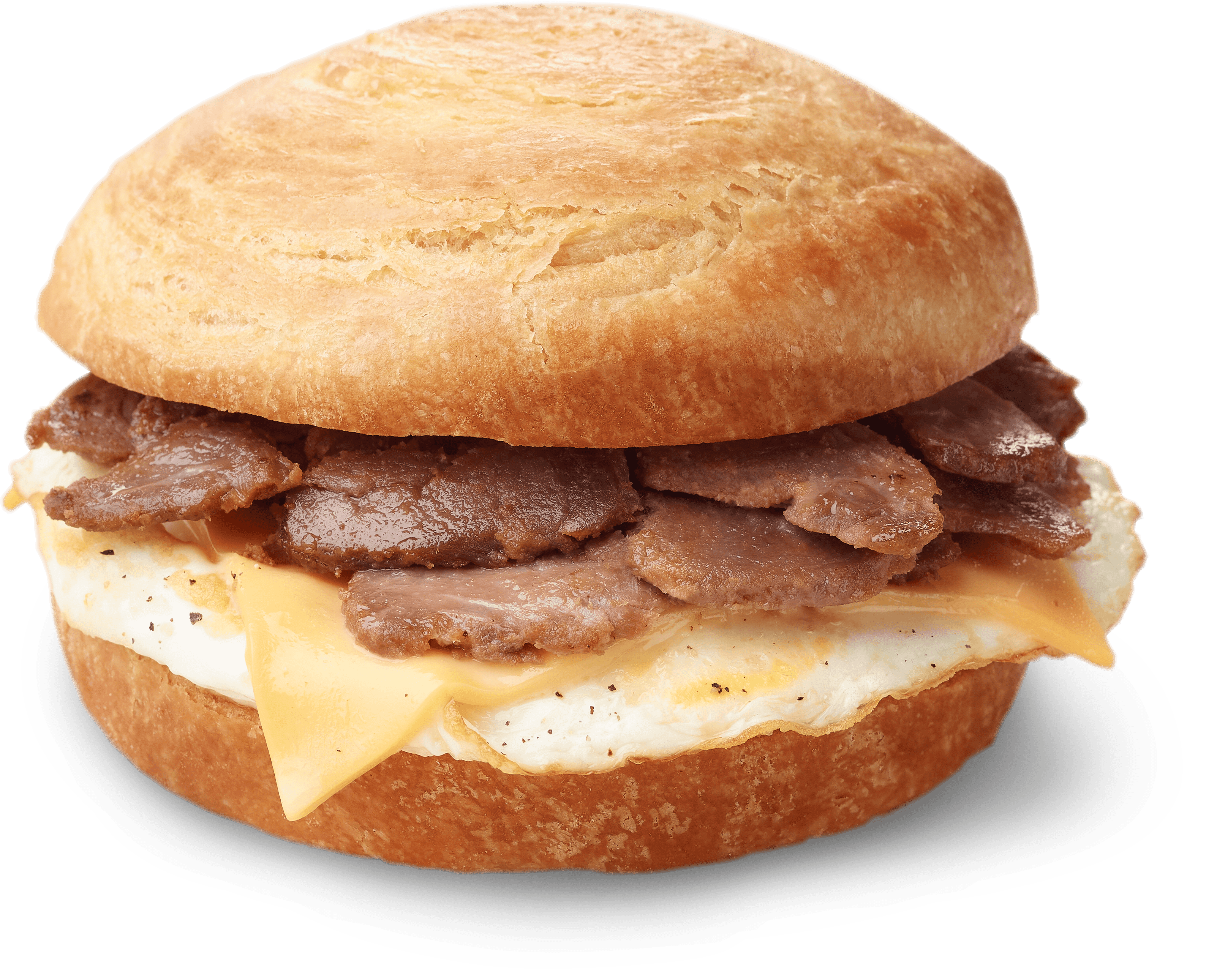 Steak Egg And Cheese Croissant Silo